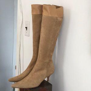 172f54443eed8 Banana Republic. Banana Republic Tan Suede & Leather Boots